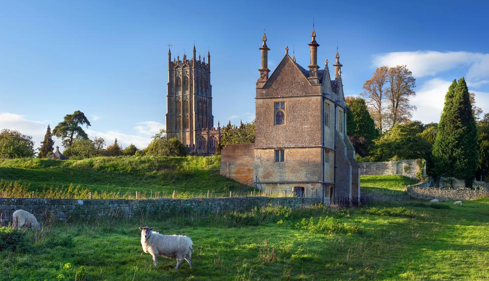 St James' Church Chipping Campden and the East Banqueting House