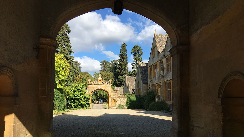 Stanway House Gateway arch.
