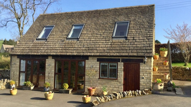 Sheepscombe Byre holiday cottage, Snowhill